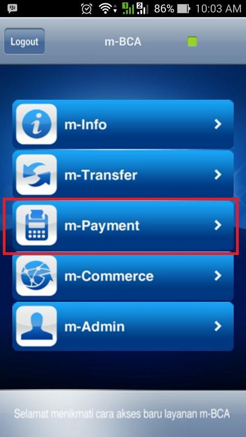 Cara Bayar Indihome Lewat M Banking BCA 1