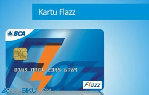 Cara Top Up Flazz BCA di Alfamart