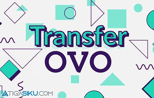 Cara Transfer Saldo OVO