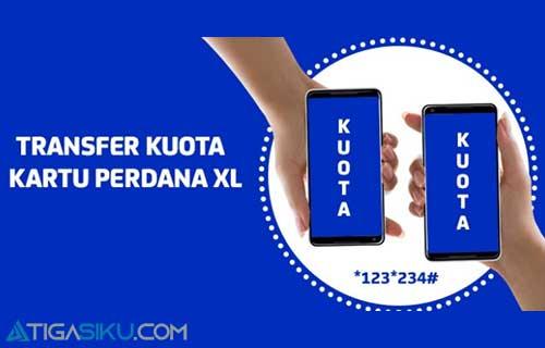 Syarat dan Cara Transfer Paket Data XL