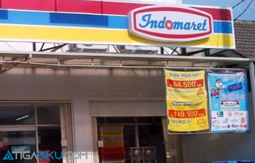 Cara Top Up i Saku Lewat Indomaret