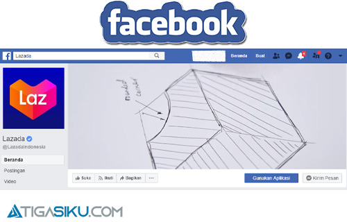 Facebook Lazada