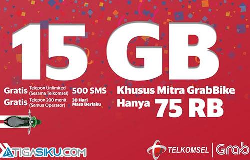 Cara Daftar Paket Telkomsel Grab