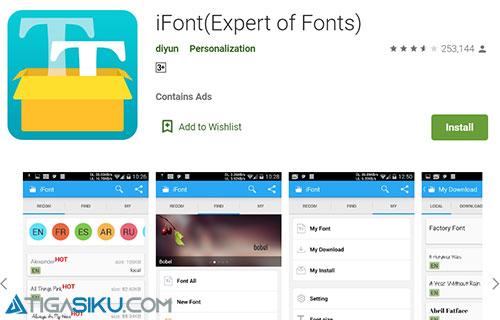 Cara Ganti Font Oppo A3S Terbaru dan Terlengkap