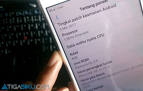 Reset Hp Vivo dengan Menu Backup & Reset