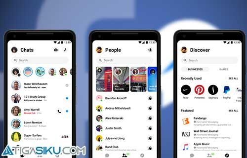 Cara Buka Blokir Messenger Facebook