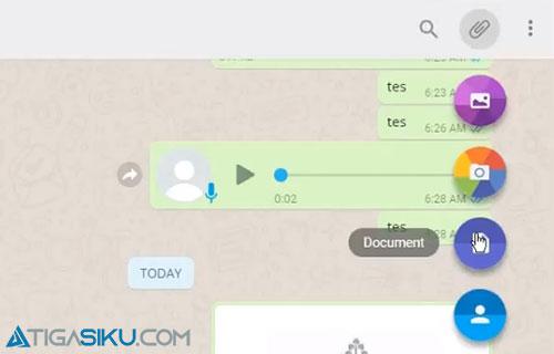Cara Kirim File Excel Lewat Whatsapp Web Terbaru