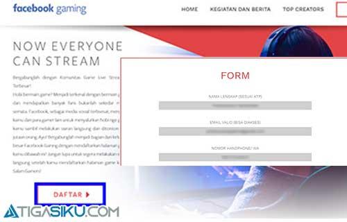 halaman form