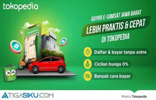 Cara Bayar Pajak Kendaraan di Tokopedia