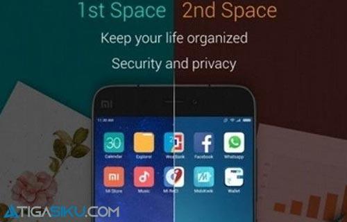 Cara Hapus Ruang Kedua Xiaomi