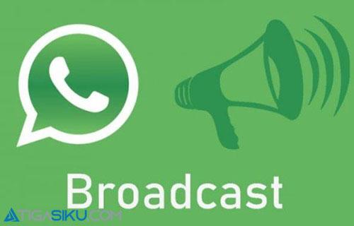 Cara Broadcast Pesan di WA