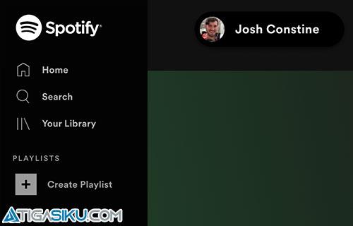 Cara Ganti Username Spotify