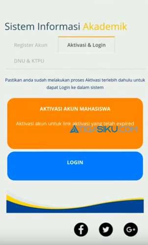 Silahkan buka website httpssia.ut .ac .id lalu pilih menu Login