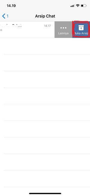 Undo Archieve iOS