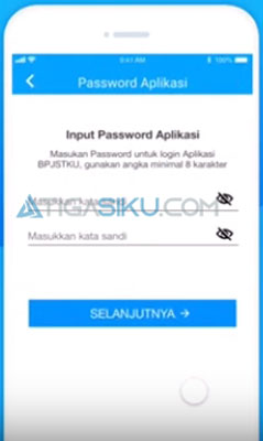 buat password Mobile JKN