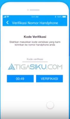 kode verifikasi yang dikirim oleh BPJS Kesehatan ke nomor handphone kamu