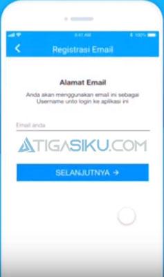 masukkan email kamu