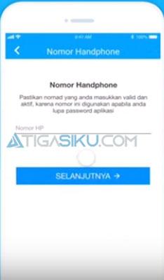nomor handphone kamu