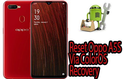 Reset Oppo A5S Via ColorOS Recovery