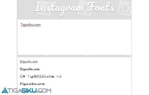 Cara Ganti Font di Instagram Tanpa Aplikasi