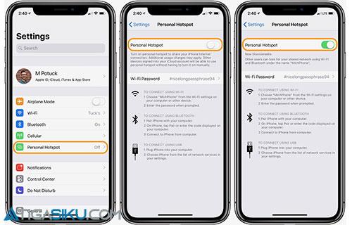 Cara Ganti Nama Hotspot iPhone