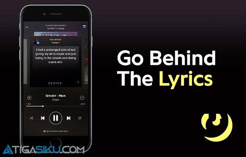 Cara Melihat Lirik di Spotify