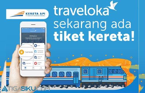 Cara Pesan Tiket Kereta di Traveloka