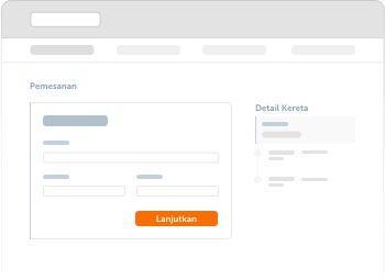 Lengkapi data pemesan dan penumpang