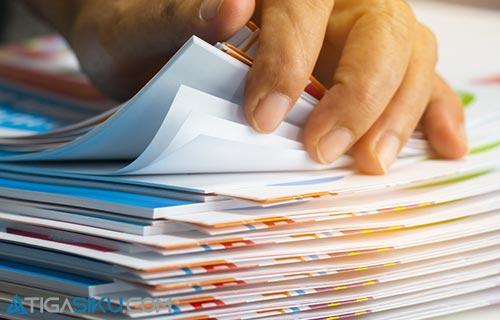 Persiapan Dokumen