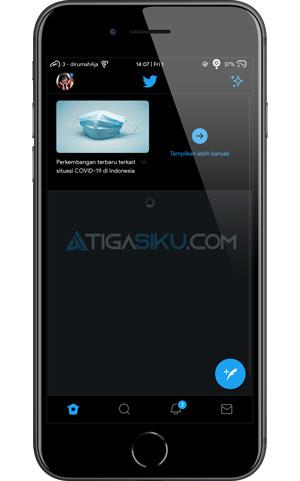 Buka Aplikasi Twitter