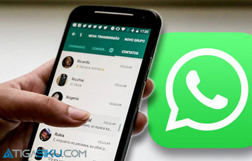 Buka Whatsapp di HP