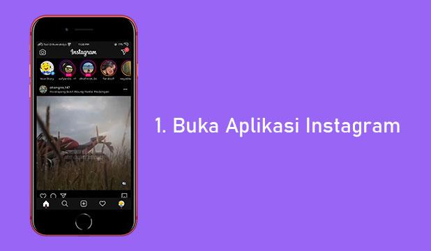 Pertama Buka Aplikasi Instagram