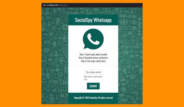 Buka Situs Social SPY Whatsapp