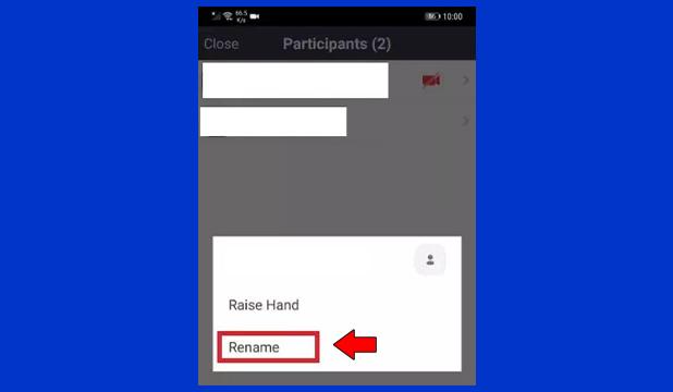 Cara Ganti Nama di Zoom Android Saat Meeting