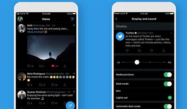 Cara Mengaktifkan Dark Mode Twitter Android
