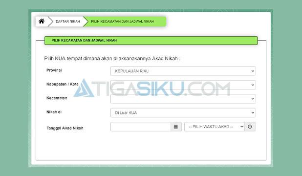 Form Pendaftaran SIMKAH
