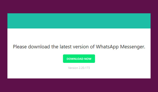 Lewat Website Resmi Whatsapp