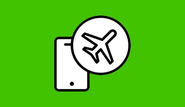Menonaktifkan Status Online WA dengan Airplane Mode
