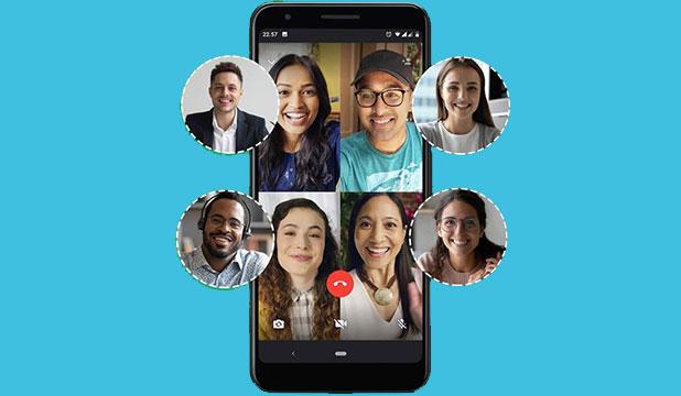 Syarat dan Cara Video Call WhatsApp 8 Orang
