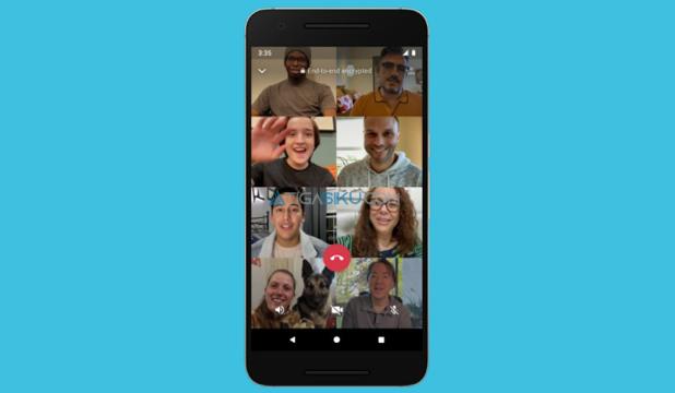 Tambah Orang Saat Video Call