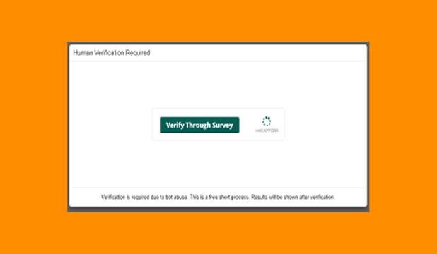 Verify Through Survey
