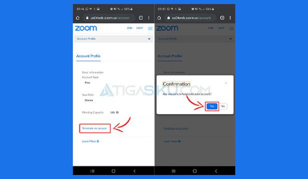 Cara Menghapus Akun Zoom di HP
