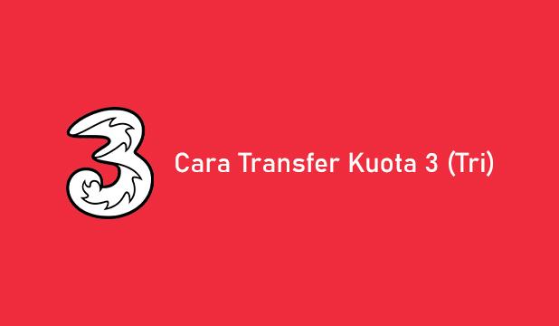 Cara Transfer Kuota 3 ke Sesama Operator