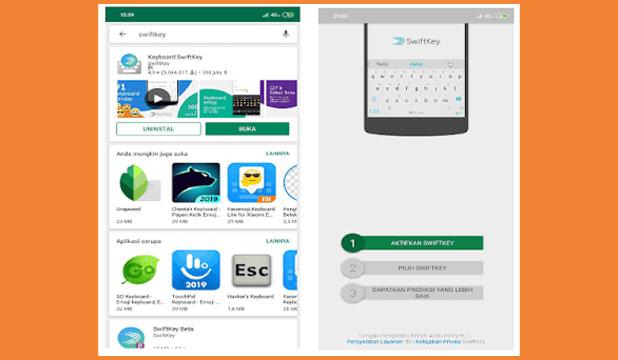 Download dan Instal SwiftKey Keyboard