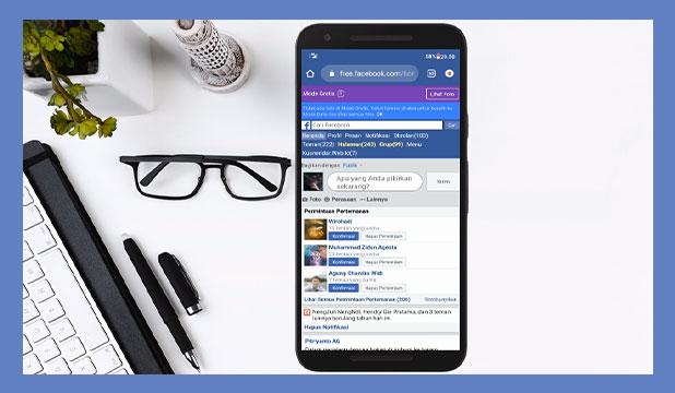 Kenapa Bisa Masuk Mode Facebook Gratis