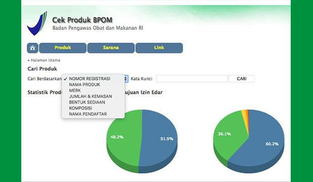 Cara Cek BPOM Online