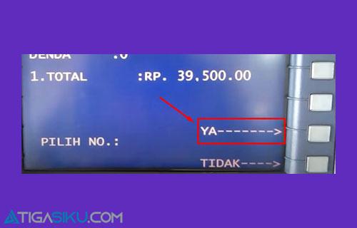 9 Konfirmasi Pembayaran PAM atau PDAM