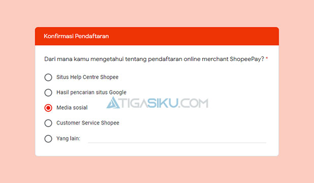 Menjawab Pertanyaan dari ShopeePay