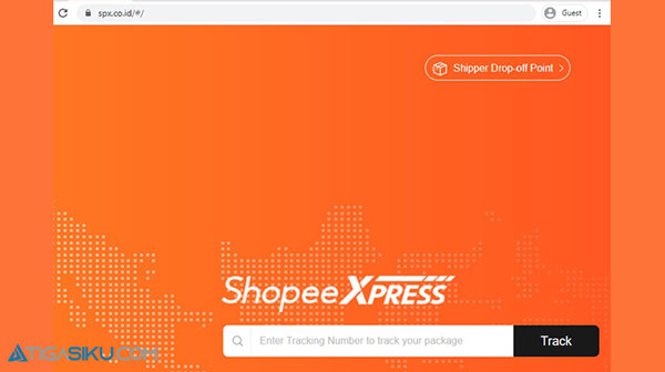 1. Silahkan kunjungi website spx.co .id bisa menggunakan browser Google Chrome ataupun Mozilla