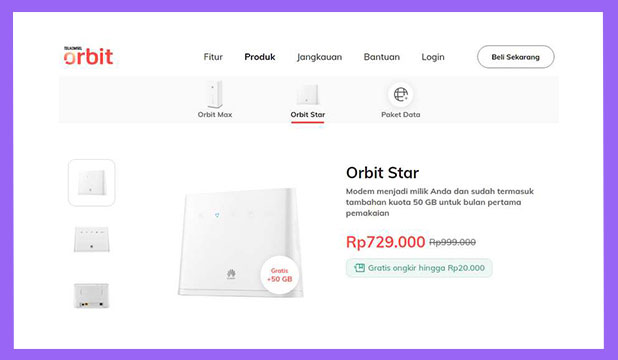 Cara Beli Telkomsel Orbit